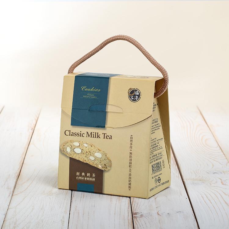 台灣好麥拇指餅-經典奶茶