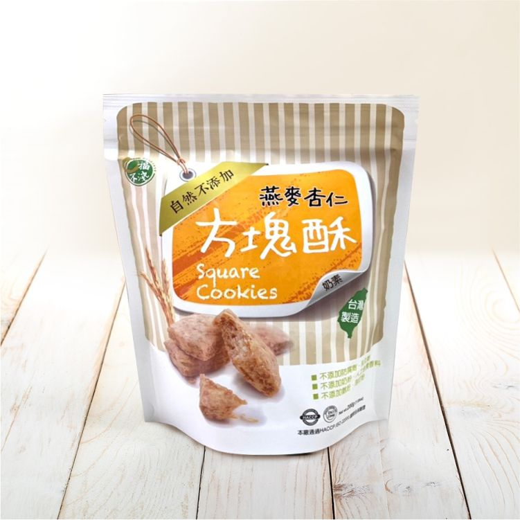燕麥杏仁方塊酥
